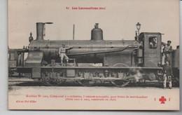 2 CPA - Les Locomotives - Equipo