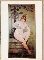 ILL100 DECAM La VERITE Assise Propage Le VELO-CATENOL 1897 Reproduction NOS ELEGANTES BICYCLETTE 1965s NUGERON B-10 - Andere Illustrators