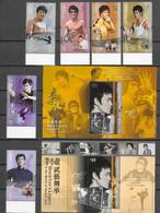 HONG KONG, 2020,MNH, MARTIAL ARTS, CINEMA, BRUCE LEE,  6v+ 2 S/SHEETS - Altri