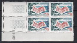 Cd5226 YvT 1391 Cote D'Azur Varoise 0.50  Coin Daté 13/06/63 N** - 1960-1969