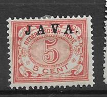 1908 MH Nederlands Indië NVPH 68a - Netherlands Indies