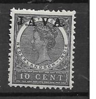 1908 MH Nederlands Indië NVPH 70a - Netherlands Indies