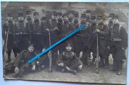 1912 Romans 75 Eme Régiment D'infanterie Tranchée Poilu Ww1 1914-1918 Photo - Guerra, Militari
