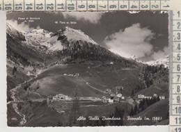 FOPPOLO BERGAMO ALTA VALLE BREMBANA  1957 VG  TIMBRO RIFUGIO STELLA ALPINA - Bergamo
