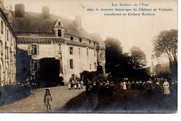 Les Enfants De L'Yser Au Château De Valmont - Valmont