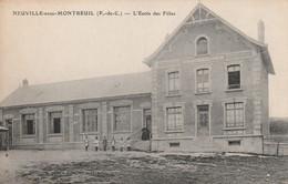 NEUVILLE SOUS MONTREUIL L 'école Des Filles - Montreuil