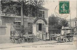 "VILLENEUVE TRIAGE -- "" Maison MARCHENAY ""  Hotel Restaurant - Commerce De Vins - Sonstige Gemeinden"