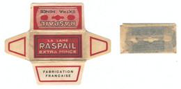 Lame De Rasoir Française RASPAIL  - French Safety Razor Blade Wrapper - Razor Blades