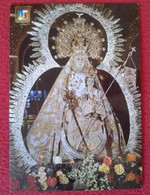 SPAIN POSTAL POST CARD VIRGEN VIRGIN VILLANUEVA DEL ARZOBISPO JAEN NUESTRA SEÑORA DE LA FUENSANTA PATRONA CARTE POSTALE. - Virgen Mary & Madonnas