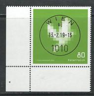 Oostenrijk 2019, Mi 3446,   Hoekblok, Prachtig  Gestempeld - 2011-... Oblitérés