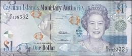 TWN - CAYMAN ISLANDS 38b - 1 Dollar 2010 Prefix D/2 UNC - Cayman Islands