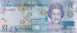 TWN - CAYMAN ISLANDS 38e - 1 Dollar 2018 Prefix D/6 UNC - Cayman Islands