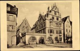 CPA Strasbourg Straßburg Elsass Bas Rhin, Rue De La Douane 1 - 3, Musikladen - Sonstige Gemeinden