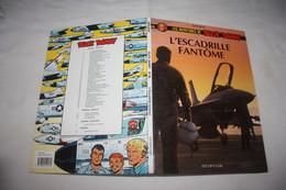 """BUCK DANNY   """" L'Escadrille Fantome """" T 46   Edition: DUPUIS CARTONNE  1996  COMME NEUVE - Buck Danny"""