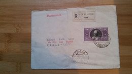 VATICAN  LETTRE  TIMBREE  1938 - Covers & Documents