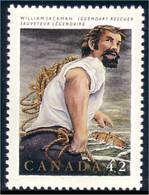Canada Folklore William Jackman Bateau Boat Ship Schiffe MNH ** Neuf SC (C14-33b) - Barcos