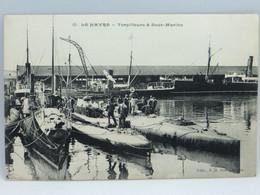 CPA -  Le Havre - Torpilleurs & Sous Marins - Harbour
