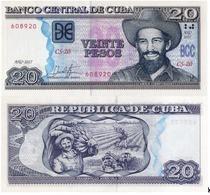 CUBA 20 Pesos, 2017, P-NEW, (not Listed In Catalog), UNC - Cuba