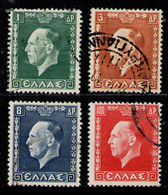 GREECE 1937 - Set Used - Used Stamps