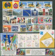 Schweiz Jahrgang 1999 Komplett Postfrisch (SG96430) - Unused Stamps