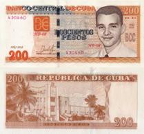 CUBA 200 Pesos, 2018, P130b, New Signature, UNC - Cuba