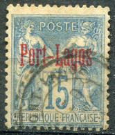 PORT LAGOS - Y&T  N° 3 (o) - Used Stamps