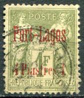 PORT LAGOS - Y&T  N° 6 (o)...très Léger Pelurage En Haut - Used Stamps
