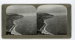 Palestine ~ SEA OF GALILEE BY TIBERIAS ~ Stereoview Upsa83 - Stereoscoop