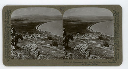 Palestine ~ PLAIN OF GENNESARET ~ Stereoview Upsa87 - Stereoscoop