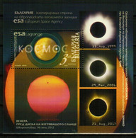 BULGARIA 2020 SPACE Astrology SOLAR ECLIPSE - Fine S/S MNH - Nuevos