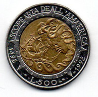 San Marin - 500 Lires 1992 R -  SUP - San Marino