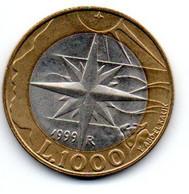 San Marin - 1000 Lires 1999 -  SUP - San Marino