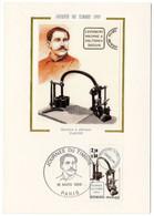 Carte Maximum 1985 - Journée Du Timbre 1985 - Machine à Oblitérer Daguin  - YT 2362 - Paris - 1980-89