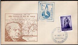 Argentina - 1961 - FDC - Semana Sarmientina - A1RR2 - Oblitérés