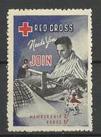 USA Vignette Red Cross Roter Kreuz MNH - Red Cross