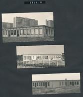 6 Originele Foto's Zellik (Wijkschool Vijverbeek - Cesar Van Malderenstraat) + 2 Foto's Opwijk - Plaatsen