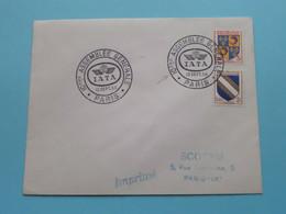 IATA - 10 Eme ASSEMBLEE GENERALE - 13 Sept 1954 ( SCOTEM Paris -IX ) Enveloppe ( Voir Photo ) ! - Aviation