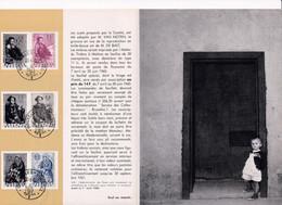 Feuillet Poste FDC 1125 à 1127 Année Mondiale Du Réfugié - 1951-60