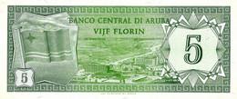 ARUBA 1986 5 Florin - P.01 Neuf UNC - Aruba (1986-...)