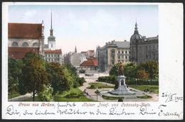 Czech Republic / Böhmen: Brünn (Brno), Kaiser Josef- Und Lazansky-Platz  1902 - República Checa