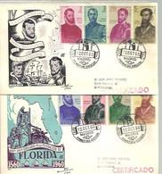 FDC 1960 CERTIFICADO - FDC