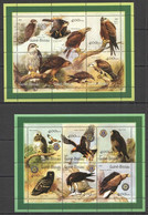 NS0461 2001 GUINEA-BISSAU FAUNA BIRDS OF PREY EAGLES 2KB MNH - Eagles & Birds Of Prey