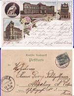 Judaica, Jews,Jewish-Germany-Synagoge, Synagogue- Frankfurt - Unclassified