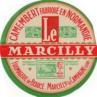 Etiquette Camembert  Fromagerie De Marcilly  (Eure) - Formaggio