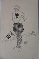 Künstlerkarte, Sport, Bobfahren, Rodeln, Signiert August Hajduk (6913) - 1900-1949
