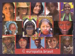 Belgie - 2011 - OBP - ** Blok 196 -  Europalia . Brasil  ** - Nuovi