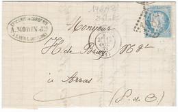 TIMBRES N° 60/1;  LETTRE  ; GRANDE CASSURE ;146 A2/  2ème état  BIEN CENTRÉ  RARE TB - 1871-1875 Cérès
