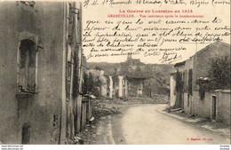MILITARIA  GUERRE 1914- 18  GERBEVILLIER  Vue Intérieure Après Le Bombardement  ..... - Weltkrieg 1914-18