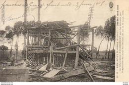 MILITARIA  GUERRE 1914- 18  La Bifurcation D' ACHICOURT Qui Fut Détruite Par L' Explosion Du Pont  ..... - Weltkrieg 1914-18