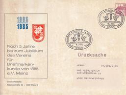 PU 115/169  1885 - 1985 Noch 5 Jahre Bis Zum Jubiläum Des Vereins Für Briefmarkenkunde Von 1985e.V., Mainz 1 - Privatumschläge - Gebraucht